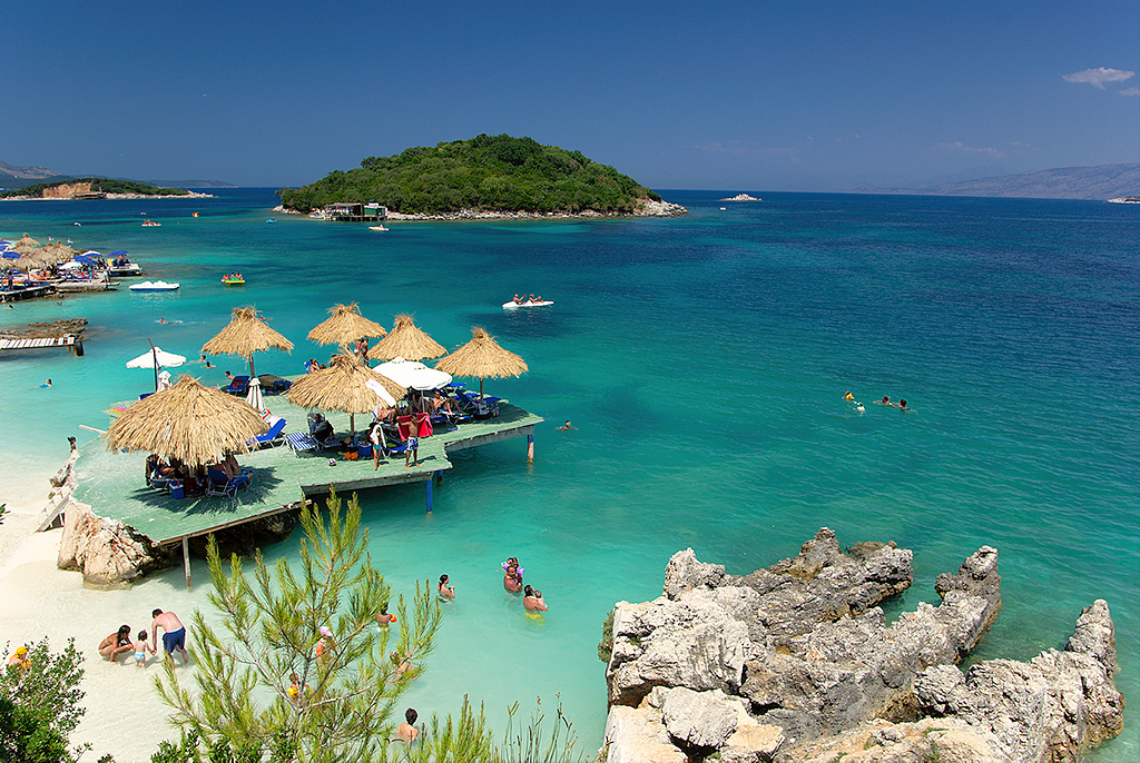 Ksamil beach, Albania. Photo: WebLibrary