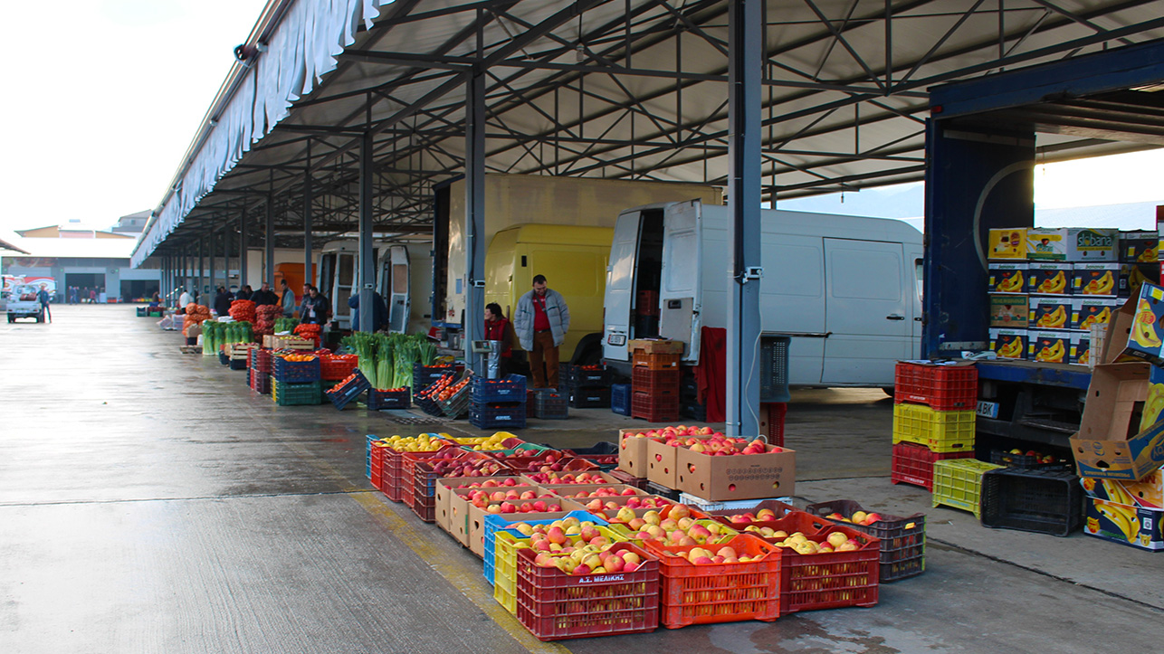 100 agribusinesses operate within the AgroMarket that counts about 500 employees. Photo: Ina Kosta/AgroWeb